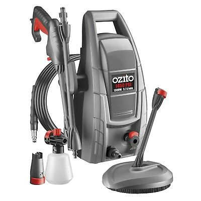 Ozito 1300W 1450PSI High Pressure Cleaner Outdoor Deck Patio Adjustable Spray