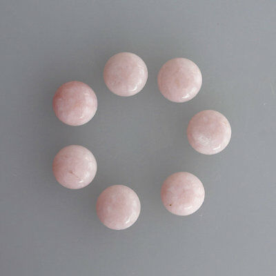 9MM Round Shape, Top Quality Pink Opal Lot Cabochon, Gemstone Supplies, AG-260