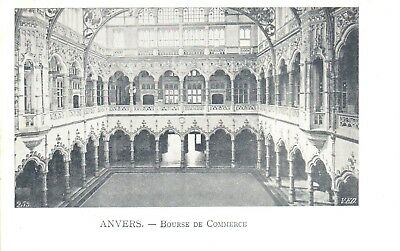 carte postale - Antwerpen - Anvers - CPA - Bourse de Commerce