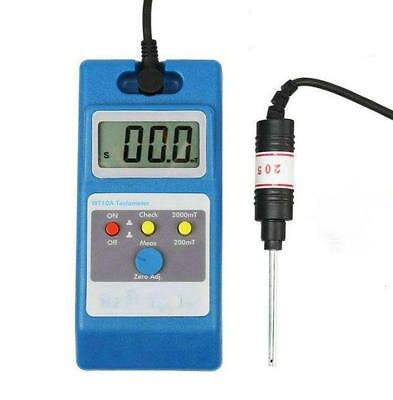 LCD Tesla Meter WT10A Gaussmeter Surface Magnetic Field Tester
