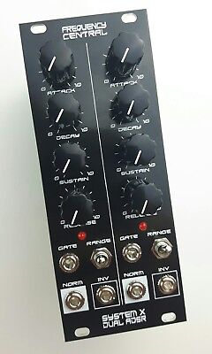 Frequency Central - System X Dual ADSR - Eurorack module - Doepfer compatible