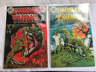 Swamp Thing DC comics Lot 12,13,14,15,16,17,18,20 HIGH GRADE 9.2 + NM