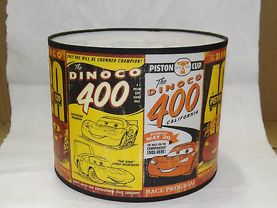 Disney Pixar 2006 CARS Lamp Shade Only Piston Cup Lightning McQueen