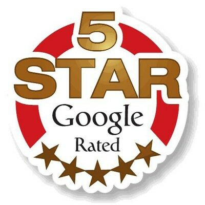 10 Real  5 Star Google Reviews