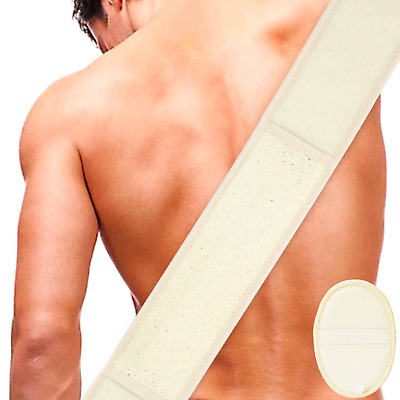 Loofah Exfoliating Back Scrubber For Shower by DigHealth, Large Size 31.61in wi