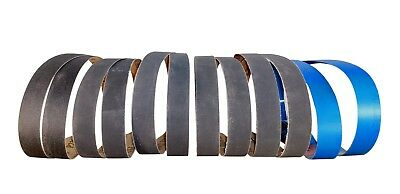 1 in. X 30 in. Premium Silicon Carbide Assorted Grit Sanding/Sharpening Belts