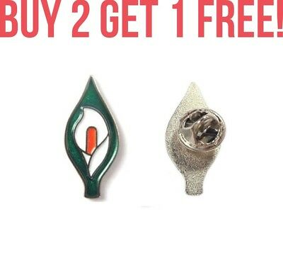 Irish Ireland Easter Rising Centenary Republican Lily Badge Pin Limited Edition