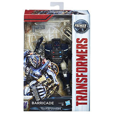 Transformers The Last Knight Premier Edition Deluxe Barricade Figure