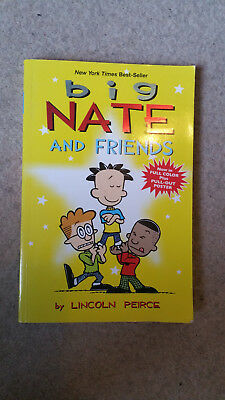 4 Big Nate books by Lincoln Peirce (Paperback)