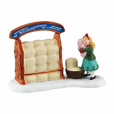"Dept 56 Dickens Village ""THE PERFECT PILLOW"" New 2016 FREE SHIPPING"