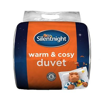 Silentnight Warm and Cosy 13.5 Tog, White, Single