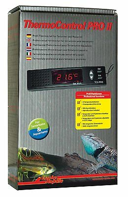 Lucky Reptile Thermo Control PRO II Thermostat Regler fürTag und Nachtabsenkung