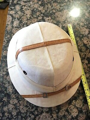 Sun-Proof Pith Helmet –  c1940's  IHI Made in India