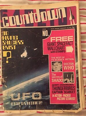 Countdown Comic Issue No 1