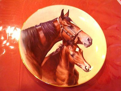 Diamond In The Rough  Horse Plate By Fred Stone With Coa