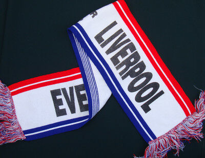 HILLSBOROUGH MEMORIAL SCARF Liverpool FC & Everton FC - Unique (see below)