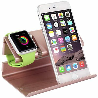 Apple Watch Stand iPhone Charging Dock Station NightStand Mode Cradle Holder New