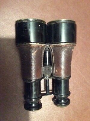W War 1 Rare Field Binoculars The Duke J. H. Steward 54 Cornhill London