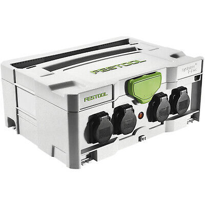 FESTOOL Systainer SYS-PowerHub IP44 mit 5 Steckdosen 396 x 296 x 157,5 mm