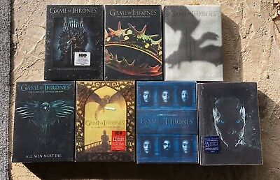 Game of Thrones Seasons 1-7 1 2 3 4 5 6 7 Pick any 4 Season DVD's New USA