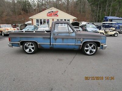 1982 Chevrolet C-10 SHORTBED 1982 CHEVROLET C10 SHORT BED SHOP TRUCK  HOT ROD PATINA FAUXTINA SQUARE BODY