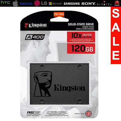 """Official Kingston A400 2.5"""" 120Gb Sata Iii Solid State Drive Ssd Warranty 1 Year"""