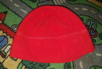 BABY BOYS Sz 0NE SIZE FITS MOST red beenie CUTE!