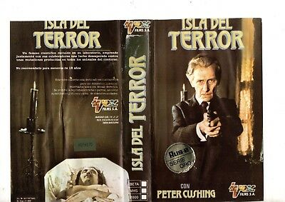 vhs or ISLA DEL TERROR Island of Terror (1966) Terence Fisher / GOOD HORROR 60s