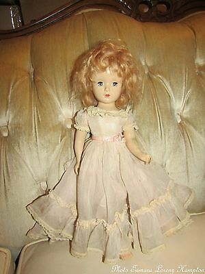 VINTAGE Madame Alexander DOLL Princess Margaret Rose HP c1949 14""