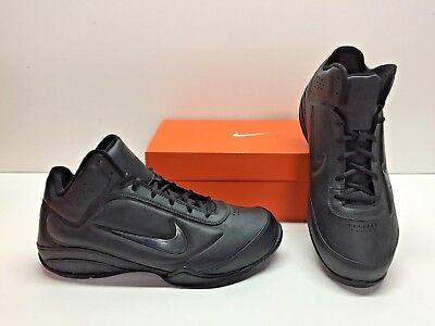 best website 19b8b fb1e4 Nike Air Flight Showup Basketball Black Trainer Athletic Sneakers Shoes  Mens 9