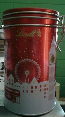 Lindt Christmas Canister