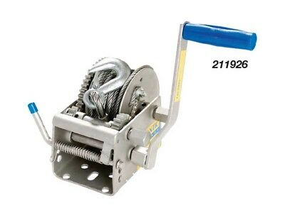 1000kg Three Speed Trailer Hand Winch For Car Boat and 4WD With Cable