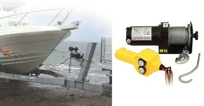 12V Trailer Boat Electric Winch 907Kg
