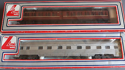 Lima Nswgr + Roa Sleeping Cars Very Good Original Condition Boxed Ho Gauge(Fu)