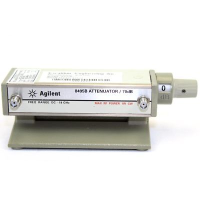Keysight Technologies 8495B Manual Step Attenuator DC to 18GHz