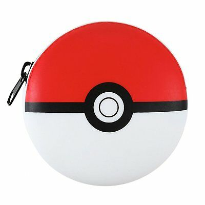 Pokemon Pokeball Kids Boys Girls Coin Wallet Purse Pouch Bank Gift Toy Licensed