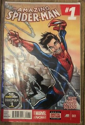 The Amazing Spider-Man 1 Signed by David Baldeón Marvel Comics