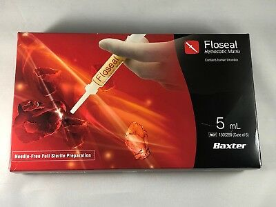 Make Offers! Baxter Floseal 5ml (1505288)   Exp. 1/14/2019 1 Box Only!