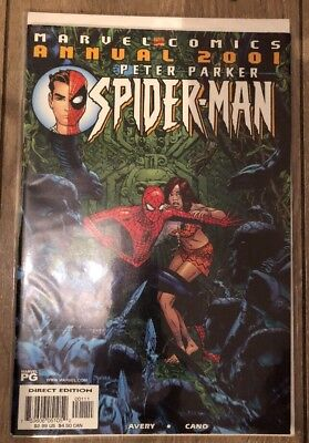 Peter Parker Spider-Man Annual 2001 Marvel Comics
