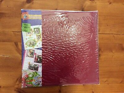 Craft Stuff Brand Expandable 30cmx30cm Scrapbook Album - Top Loading Pages