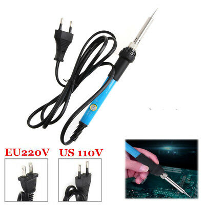 220V/110V 60W Adjustable Electric Temperature Gun Welding Soldering Iron Tool UP
