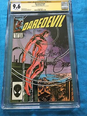 Daredevil #241 - Marvel - CGC SS 9.6 NM+ - Signed by Mike Zeck, Ann Nocenti
