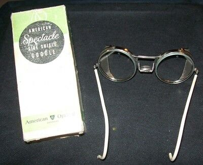 Vintage American Optical Safety Glasses/Goggles in Original Box
