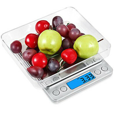 500g 0.01g Digital Pocket Gram Scale Jewelry Weight Electronic Balance Scale UP