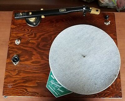 1956 Components Corporation Professional Junior Turntable Audax KT-12 Tonearm