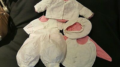 Vintage CHRISTENING SAILOR OUTFIT 4pc* GORGEOUS