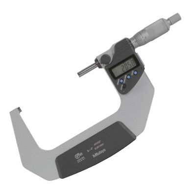 Mitutoyo 75-100mm IP65 Anti-corrosion Digital Micrometer with Ratchet Stop