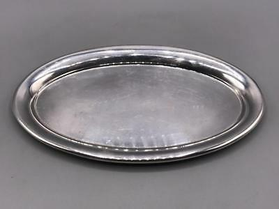 """Vintage Reed Barton No. 22 Oval Silver Plate Tray 9"""""""