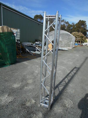 NBS Aluminium Square Lattice Tower Mast section 3 meters combines with others