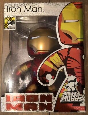 Iron Man Mighty Muggs SDCC 2008 Marvel Comics